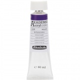 Schmincke AKADEMIE® Acrylfarbe, Brillantviolett (440), Transparent, 60 ml/ 1 Fl.