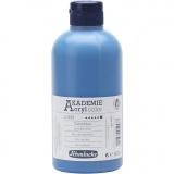 Schmincke AKADEMIE® Acrylfarbe, Coelinblau (449), Deckend, 500 ml/ 1 Fl.