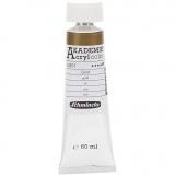 Schmincke AKADEMIE® Acrylfarbe, Gold (801), Halbtransparent, 60 ml/ 1 Fl.