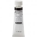 Schmincke AKADEMIE® Acrylfarbe, Eisenoxidschwarz (770), Deckend, 60 ml/ 1 Fl.