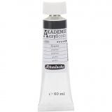 Schmincke AKADEMIE® Acrylfarbe, Graphit (806), Deckend, 60 ml/ 1 Fl.