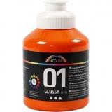A-Color Acrylfarbe , Orange, Glänzend, 500 ml/ 1 Fl.