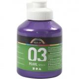 A-Color Acrylfarbe, Violett, Metallisch , 500 ml/ 1 Fl.