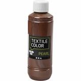Textilfarbe, Braun, Perlmutt, 250 ml/ 1 Fl.