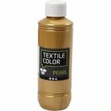 Textilfarbe, Gold, Perlmutt, 250 ml/ 1 Fl.