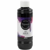 Flüssige Aquarellfarbe - Sortiment, Schwarz, 250 ml/ 1 Fl.