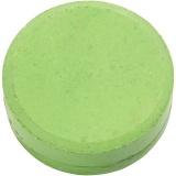 Wasserfarben im Set, Grün, H: 19 mm, D: 57 mm, 6 Stck./ 1 Pck.
