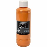 Textile Solid, Orange, Deckend, 250 ml/ 1 Fl.
