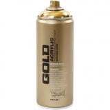 Sprühfarbe, Gold, 400 ml/ 1 Dose