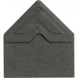 Fotoecken , Schwarz, B: 10 mm, 110 g, 108 Stck./ 1 Pck.