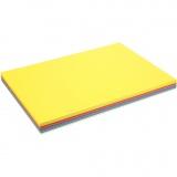 Farbkarton - Sortiment, Frühlingsfarben, A2, 420x600 mm, 180 g, 300 Bl./ 1 Pck.