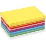 Farbkarton - Sortiment, Frühlingsfarben, A6, 105x148 mm, 180 g, 300 Bl./ 1 Pck.