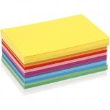 Farbkarton - Sortiment, Frühlingsfarben, A6, 105x148 mm, 180 g, 120 Bl./ 1 Pck.