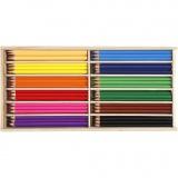 Buntstifte, Sortierte Farben, Mine 3 mm, 144 Stck./ 1 Pck.