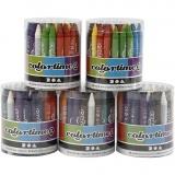 Colortime Farbkreide, 5x48 sort./ 1 Set