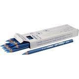 Super Ferby 1 Buntstifte, Blau, L: 18 cm, Mine 6,25 mm, 12 Stck./ 1 Pck.