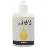 Clear Multi-Gelkleber, 27 ml/ 1 Fl.
