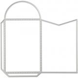 Stanz- und Prägeformen, Umschlag, Größe 12,87x12,7 cm, 1 Stck.