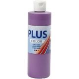 Plus Color Bastelfarbe, Dunkelviolett, 250 ml/ 1 Fl.