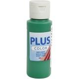 Plus Color Bastelfarbe, Brillantgrün, 60 ml/ 1 Fl.