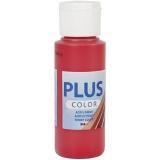 Plus Color Bastelfarbe, Beerenrot, 60 ml/ 1 Fl.