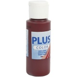 Plus Color Bastelfarbe, Bordeaux, 60 ml/ 1 Fl.