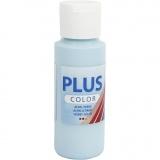 Plus Color Bastelfarbe, Arktisblau, 60 ml/ 1 Fl.