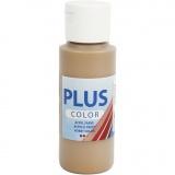Plus Color Bastelfarbe, Antikgold, 60 ml/ 1 Fl.