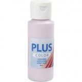 Plus Color Bastelfarbe, Blasslila, 60 ml/ 1 Fl.