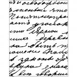 Prägeschablone, Schrift, Größe 11x14 cm, dicke 2 mm, 1 Stck.