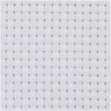 Aida-Stoff, Weiß, Größe 50x50 cm, 35 Kästchen pro 10 cm, 1 Stck.