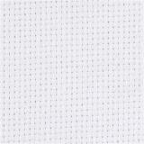 Aida-Stoff, Weiß, Größe 50x50 cm, 70 Kästchen pro 10 cm, 1 Stck.