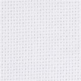 Aida-Stoff, Weiß, B: 150 cm, 70 Kästchen pro 10 cm, 3 m/ 1 Stck.