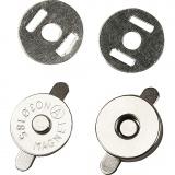 Magnetverschluss, D: 18 mm, 25 Stck./ 1 Pck.