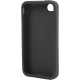 iPhone-Cover zum Besticken, Schwarz, Nr. 4/4S, Größe 11,8x2,4 cm, 1 Stck.