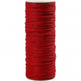 Papiergarn, Rot, Dicke 1,8 mm, 470 m/ 1 Rolle, 250 g