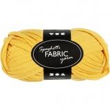 Spaghetti-Garn, Gelb, L: 35 m, 100 g/ 1 Knäuel
