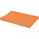 Stoff, Orange, B: 145 cm, 140 g, 1 lfm