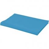 Stoff, Blau, B: 145 cm, 140 g, 1 lfm