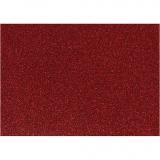 Bügelfolie, Rot, 148x210 mm, Glitter, 1 Bl.