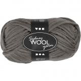 Sydney Wolle, Grau, L: 50 m, 50 g/ 1 Knäuel