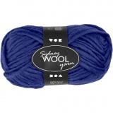 Sydney Wolle, Blau, L: 50 m, 50 g/ 1 Knäuel