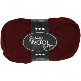 Sydney Wolle, Weinrot, L: 50 m, 50 g/ 1 Knäuel