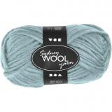 Sydney Wolle, Mintgrün, L: 50 m, 50 g/ 1 Knäuel