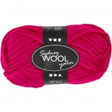 Sydney Wolle, Pink, L: 50 m, 50 g/ 1 Knäuel