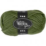 Sydney Wolle, Grün, L: 50 m, 50 g/ 1 Knäuel