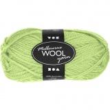 Melbourne Wolle, Neongrün, L: 92 m, 50 g/ 1 Knäuel