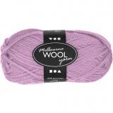 Melbourne Wolle, Rosa, L: 92 m, 50 g/ 1 Knäuel