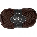 Sydney Wolle, Braun, L: 50 m, 50 g/ 1 Knäuel