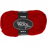 Sydney Wolle, Rot, L: 50 m, 50 g/ 1 Knäuel